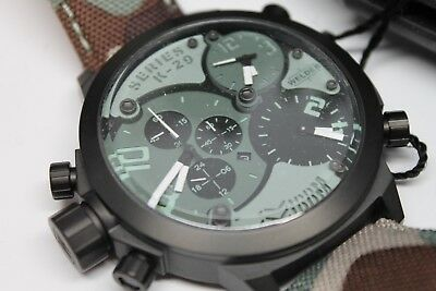 Welder By U-Boat Triple Time Zone Chrono K29-8004 Msrp 1210.00