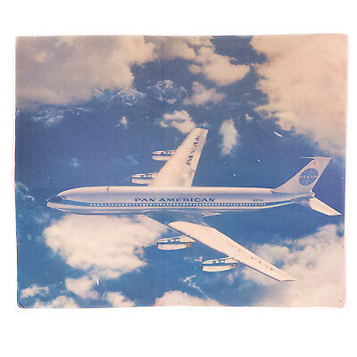 """Vintage Pan Am Stand Up Airline Advertisement Display 32.60"""" x 27.00"""""""