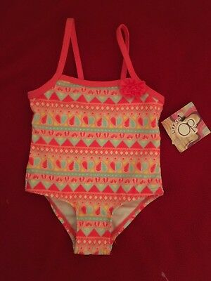 New Infant Girls Swimsuit From OP Sz 3/6 Mos