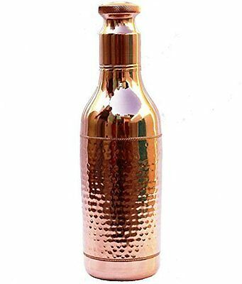 1500 ML 100% Copper High Neck Drinking Water Bottle Ayurvedic vessel01rt