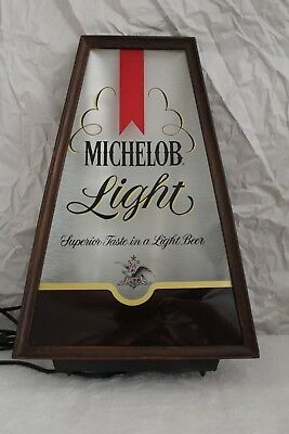 Vintage Beer Merchandise, 1979 Michelob Light Lighted Sign, NOS