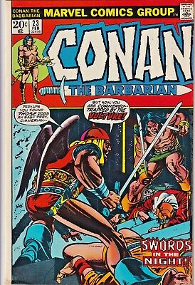 Conan The Barbarian#23 Vf 1973 First Red Sonja Marvel Bronze Age Comics