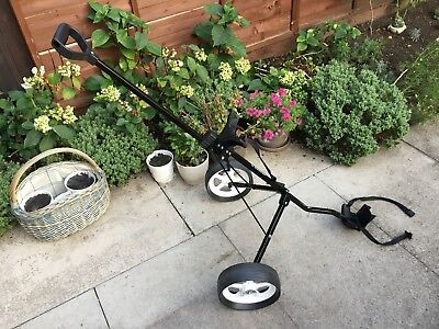 DUNLOP 4 WHEEL Trolley Golf Play Game Sport Active Accessory ... on