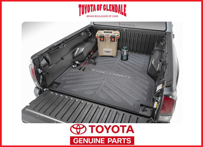 2005-2019 Toyota Tacoma Bed Mat 6Ft - Long Bed Only Genuine Oem Pt580-35050-Lb