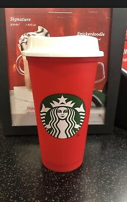 Starbucks Red Reusable Holiday Cup 2018 SOLD OUT LIMITED EDITION