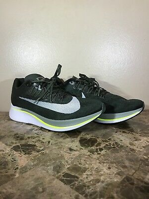 62c0181c26f Nike Zoom Fly Mens Running Shoes Sequoia Olive Size 10.5 880848-301
