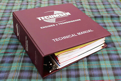 Dealer Clean- Out Tecumseh Engines And Transmissions Technical Manual, 3-11-08