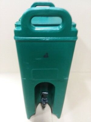 Cambro 500LCD Insulated Beverage Dispenser Surplus Military  Teal color