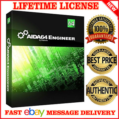 Aida64 Extreme, Engineer, Network, Business ♕ 2019 ♕ 🔥fast Email Delivery🔥 📩