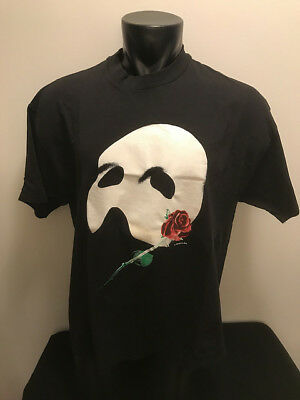 Vtg 1986 Phantom of the Opera T Shirt Adult size XL Made in USA