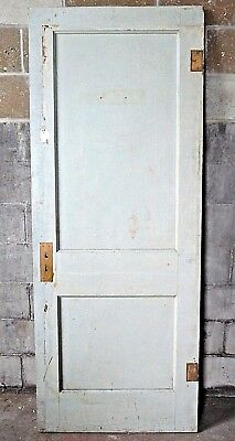 Antique Craftsman Style Two Panel Door - C. 1910 Fir Architectural Salvage
