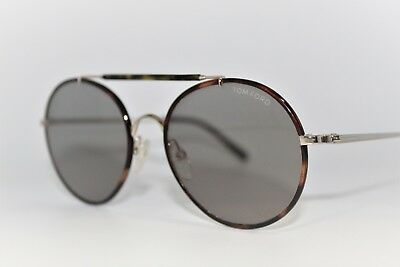 3541bcbd5d719 New Tom Ford Samuele Tf246 28J Havana Authentic Sunglasses Frames 53Mm Tf  246