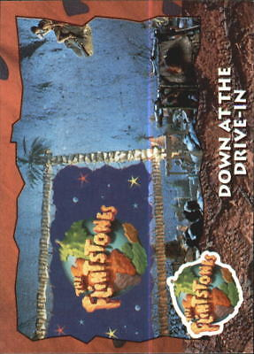 1993 The Flintstones Movie #15 Down at the Drive-In