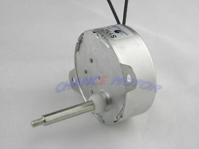 CHACNCS Electric Synchronous Motor TYC-40 AC/DC 12V 5RPM CW/CCW For Christmas