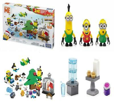 MEGA BLOCKS MINIONS CPC 57 Adventskalender Minions plus Minion Figur