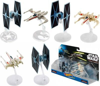 Hot Wheels Star Wars Starships - Tie Fighter Vs. X-Wing (Set of 2) (Dyh44)