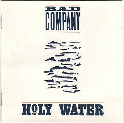 BAD COMPANY HOLY Water Lp 1990 - £0 99 | PicClick UK