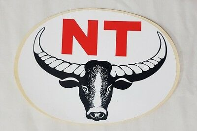 Early NT (Northern Territory) Souvenir Sticker / Decal
