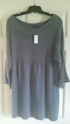 Gap Maternity Bell Sleeved Sweater Sweater Blue Size XXL NWT