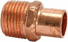 Copper Street Adapter Male 3/4""