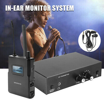 For ANLEON S2 UHF Stereo Wireless Monitoring System In-Ear System 863-865MHZ BT0