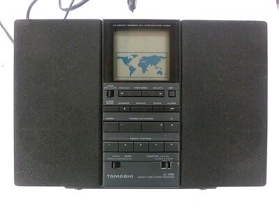 Tamashi R-190 World Time Stereo Receiver Weltempfänger