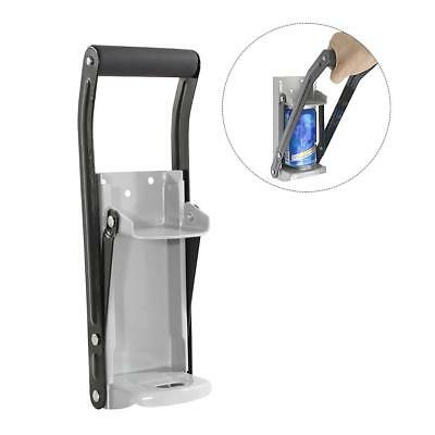 330ml/12oz Aluminum Can Crusher & Bottle Opener Heavy Duty Metal Wall Soda Beer