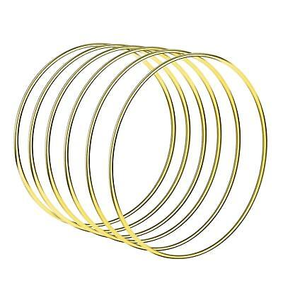 Welded Metal Ring Craft Hoop Gold DIY Accessories yiu