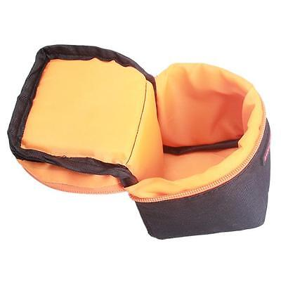 Padded Camera Lens Bag Protector Cover Case Pouch For Canon Nikon DSLR MA