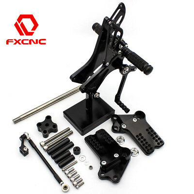 FXCNC Motorcycle Rearset Rear set Foot pegs For KTM Duke 125 200 390 RC390 / 125
