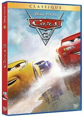 "DVD ""Cars 3 "" Disney n diamante 119 NUOVO IMBALLATO"