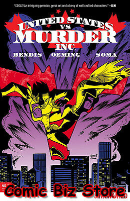 United States Vs Murder Inc #3 (Of 6) (2018) 1St Printing Main Cover Dc Universe