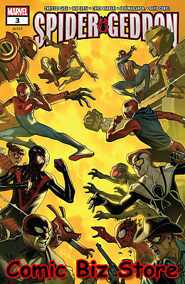 Spider-Geddon #3 (Of 5) (2018) 1St Printing Molina Cover Bagged & Boarded Marvel