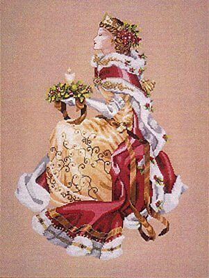 MIRABILIA Cross Stitch PATTERN ONLY MD78 Royal Holiday Christmas Queen