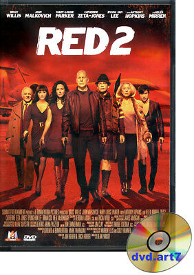 DVD : RED 2 - Bruce Willis - John Malkovich