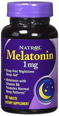 NATROL Melatonin 1 mg 90 Kaps.