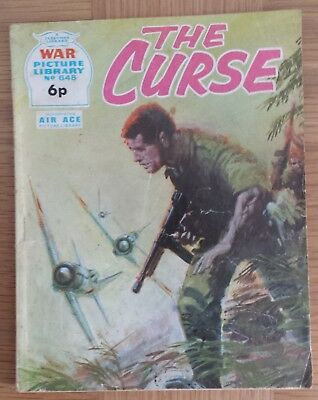 WAR PICTURE LIBRARY  No.648 VERY RARE. by FLEETWAY LIBRARY 1971
