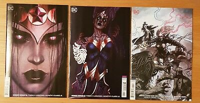 Wonder Woman 56 57 Justice League Dark The Witching Hour Variant Set NEW B&B