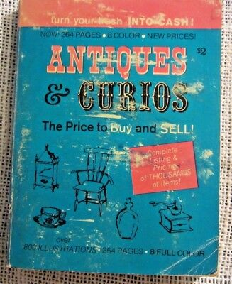 Vintage Antique & Curios Price Guide The Price To Buy And Sell 1971 Hal L. Cohen