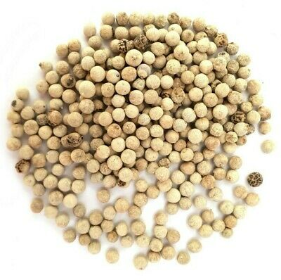 White  Peppercorns - Highest Quality - Whole Dried Spice White Pepper FREE P&P
