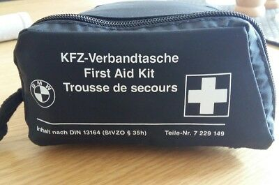 GENUINE BMW OEM FIRST AID KIT- NEW COMPACT style EXP Feb  2023