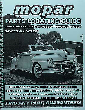 Find Plymouth Parts with book 1956 1957 1958 1959 1960 1961 1962 1963 1964 1965