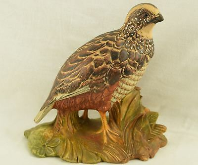 Vintage Quail Bird Pheasant Figure Especially Made for Rich's Atlanta Georgia 1