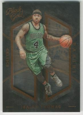 2015-16 Panini Black Gold Bronze #44 Isaiah Thomas