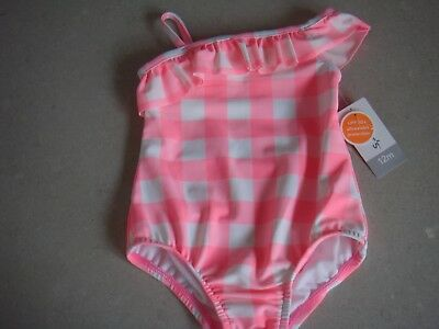 Carters Baby Girls Swimsuit Bnwt Size 12Mths