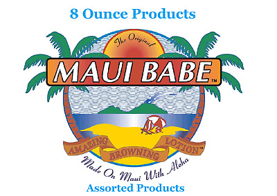 Maui Babe Browning Lotion 8 ounce bottle