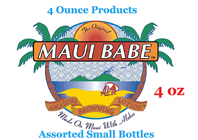 Maui Babe Browning Lotion 4 ounce bottle (small bottle)