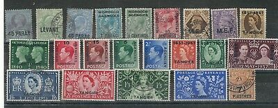 W31 British levant morocco tangier M.E.F. stamps gb uk collection