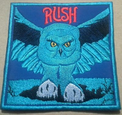 Rush Embroidered patch Fly by Night