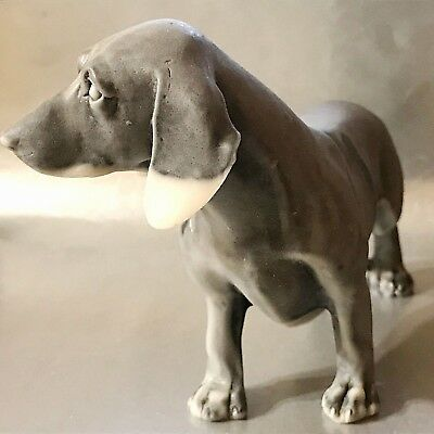 Dachshund Large figurine Dog marble chips Souvenirs from Russia Dachshund